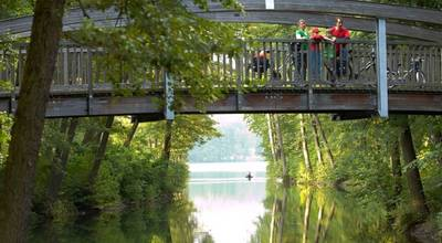 "Mehr zu 2. Etappe ""Radweg Berlin-Usedom-Wollin-Stettin"": Biesenthal - Joachimsthal"